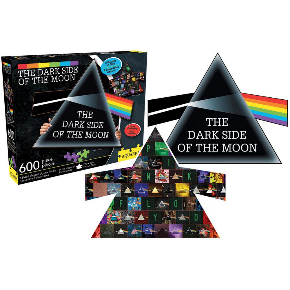 Pink Floyd Dark Side of the Moon 600 Piece Double-Side