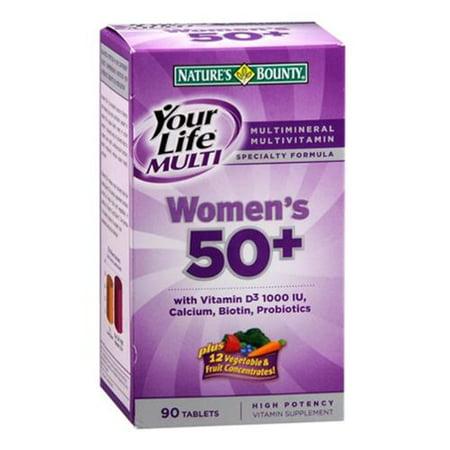 Nature S Bounty Your Life Multivitamin Women S