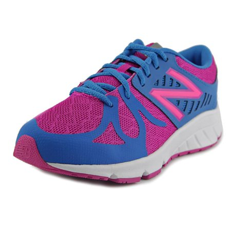 New Balance Kjrus Round Toe Synthetic Running Shoe Blue For Women