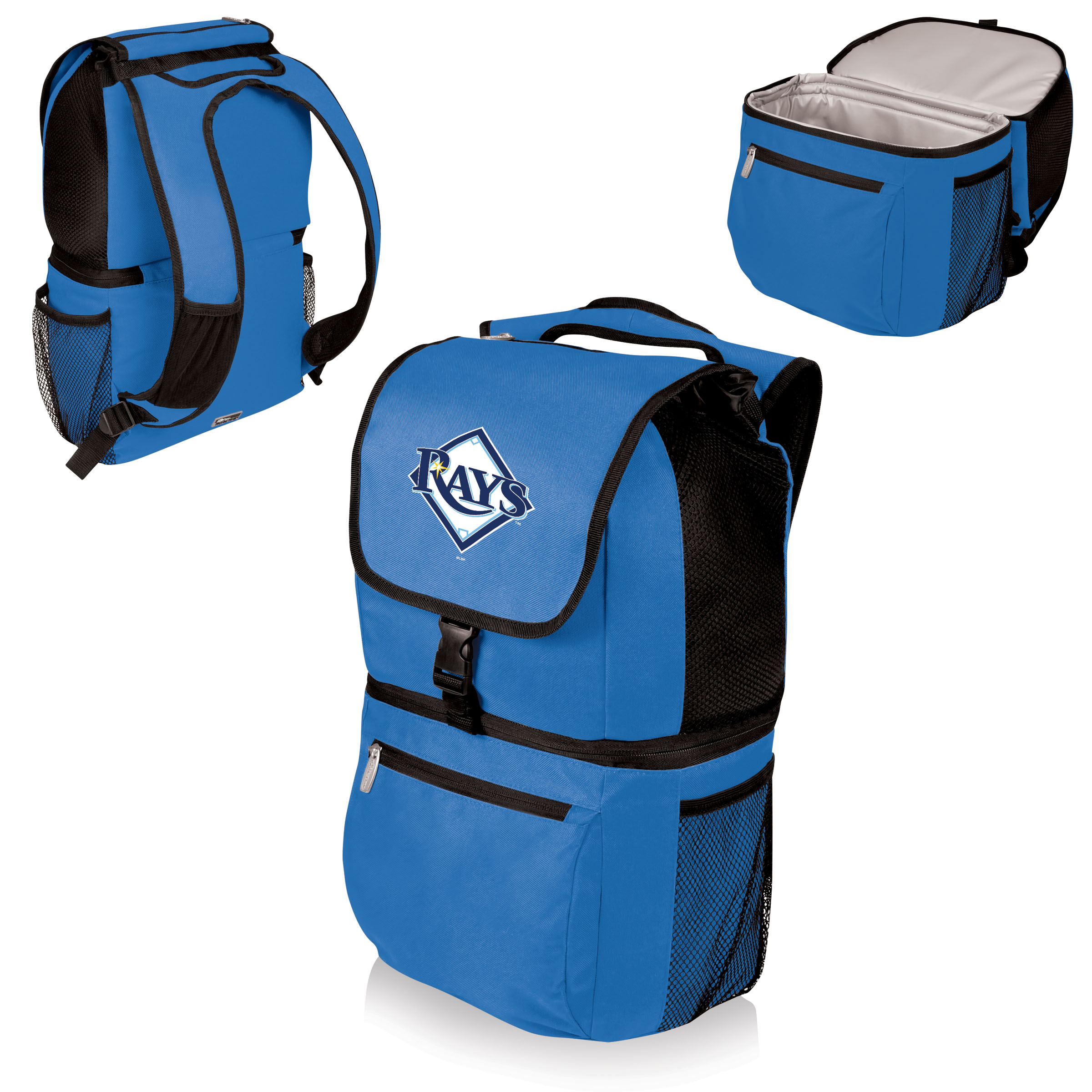 Tampa Bay Rays Zuma Cooler Backpack - Blue - No Size
