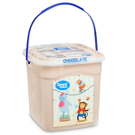 Great Value Chocolate Ice Cream, 1.12 gallons