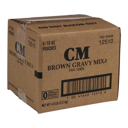 (Price/Pack)Continental Mills 744-1065 Continental Mills Value Brown -