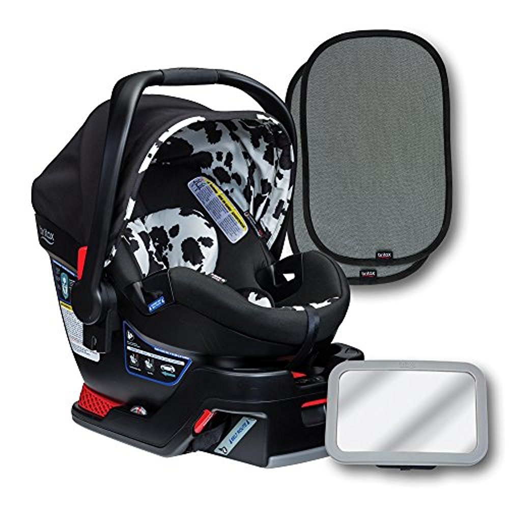 Britax B-Safe 35 Elite Infant Seat Bundle, Cowmooflage