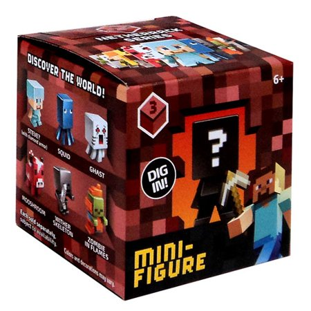 Minecraft Netherrack Series 3 Mini Figure Mystery Pack
