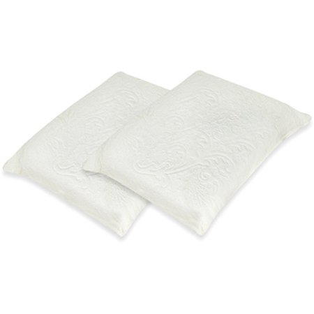 spa sensations memory foam and down alternative pillow 2 pack. Black Bedroom Furniture Sets. Home Design Ideas