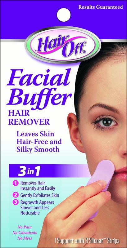 Hair off facial buffer review
