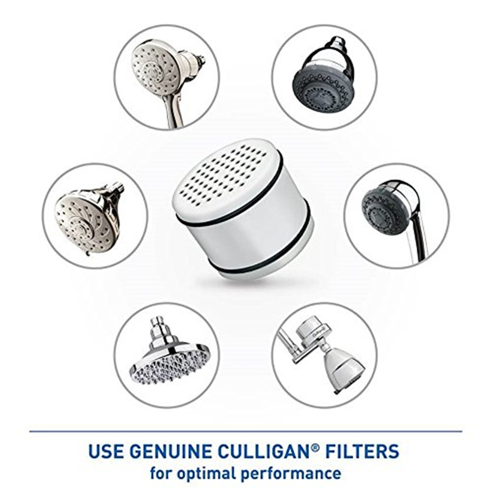 PUREPLUS WHR-140 Replacement for Culligan Shower Head Water Filter ...