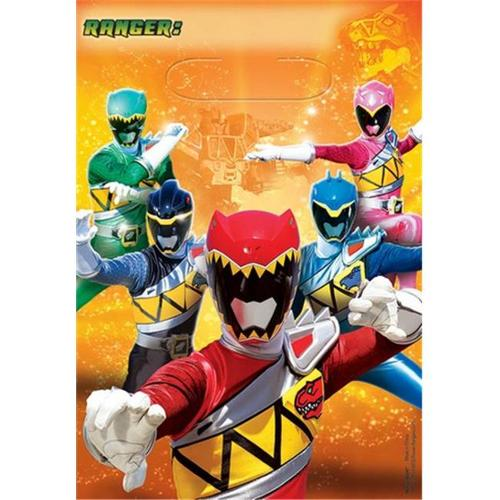 Amscan 371429 Dino Charge Loot Bags - Pack of 48
