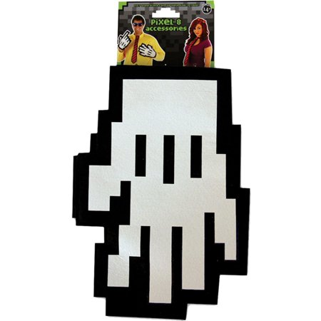 Morris Costumes Pixel Gloves Halloween Accessory (Pixel Art De Halloween)