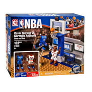 NBA C3 Construction Kevin Durant vs. Carmelo Anthony One on One Building Set