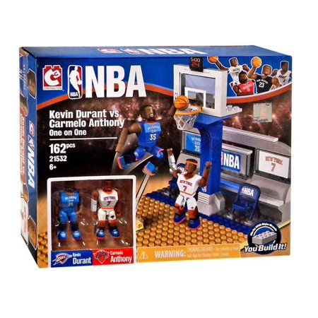 Nba C3 Construction Kevin Durant Vs  Carmelo Anthony One On One Building Set