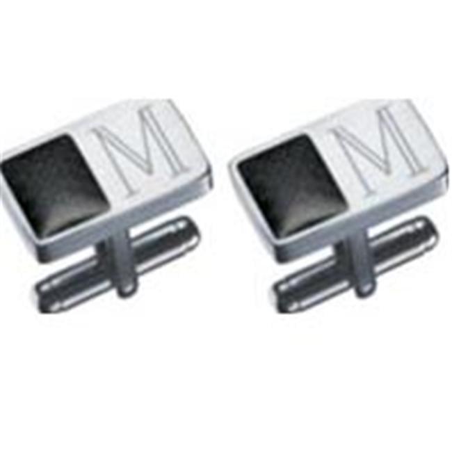 Visol Impresio Stainless Steel Engravable Cufflinks