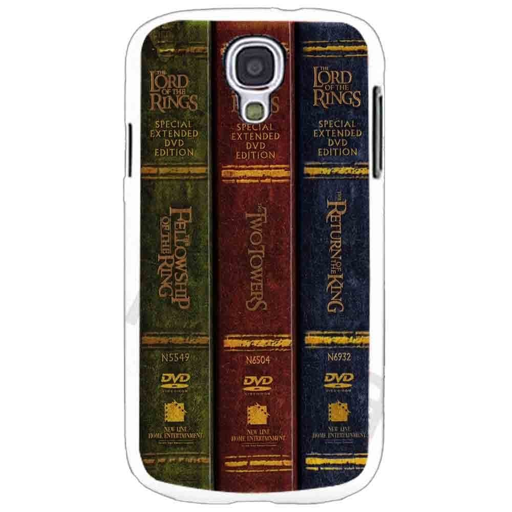 Ganma The Lord of the Rings Trilogy Books Case For Samsung Galaxy Case (Case For Samsung Galaxy S5 White)