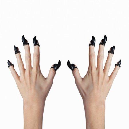 Marvel Comics Black Panther Cosplay Finger Nail Tip Rings