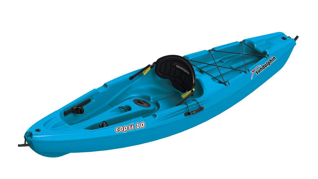Capri 10 Sit-On Recreational Kayak by KL Outdoor