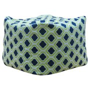 Premiere Home Curtis Canal 17 in. Pouf Ottoman