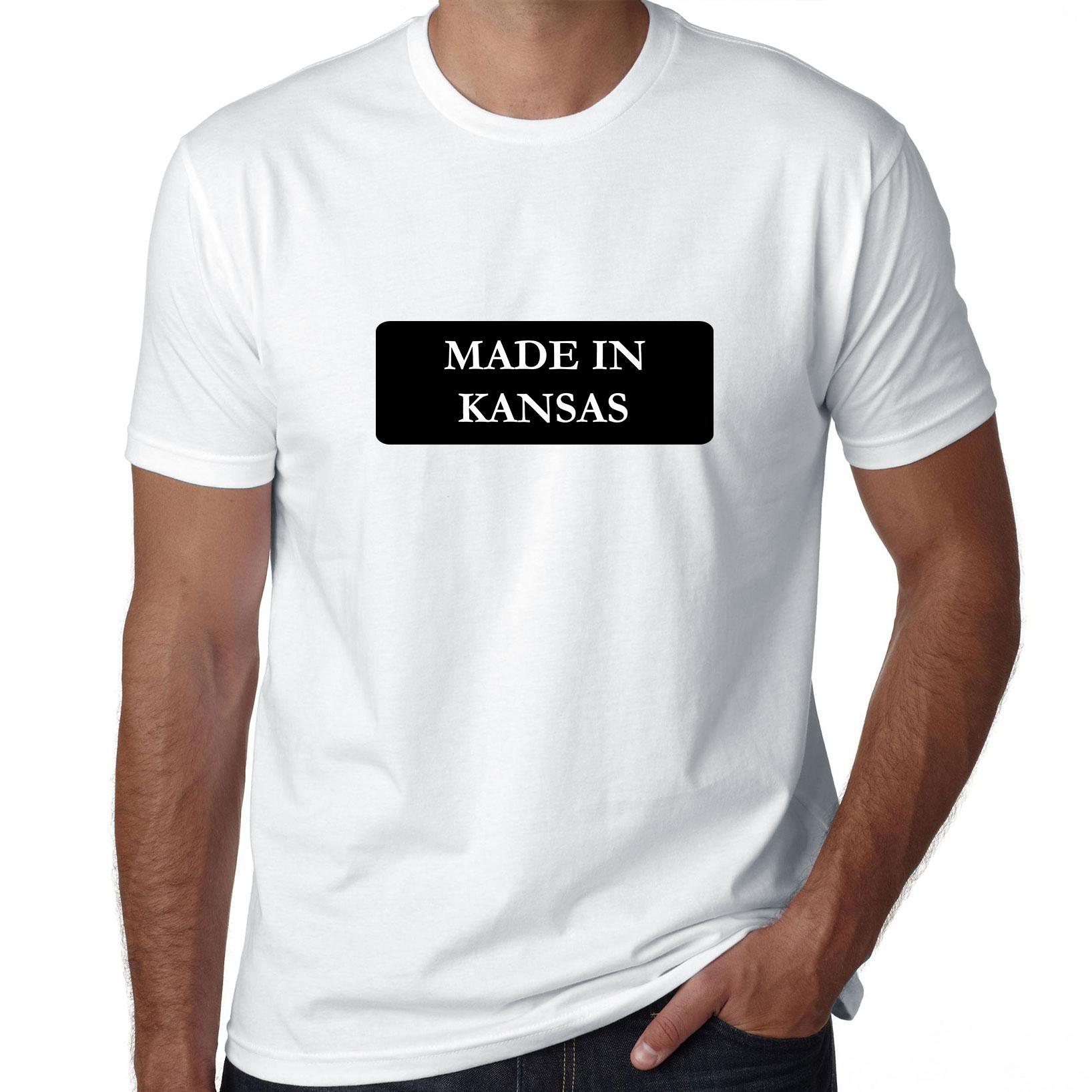 Hip Made In Kansas State Pride Men's T-Shirt