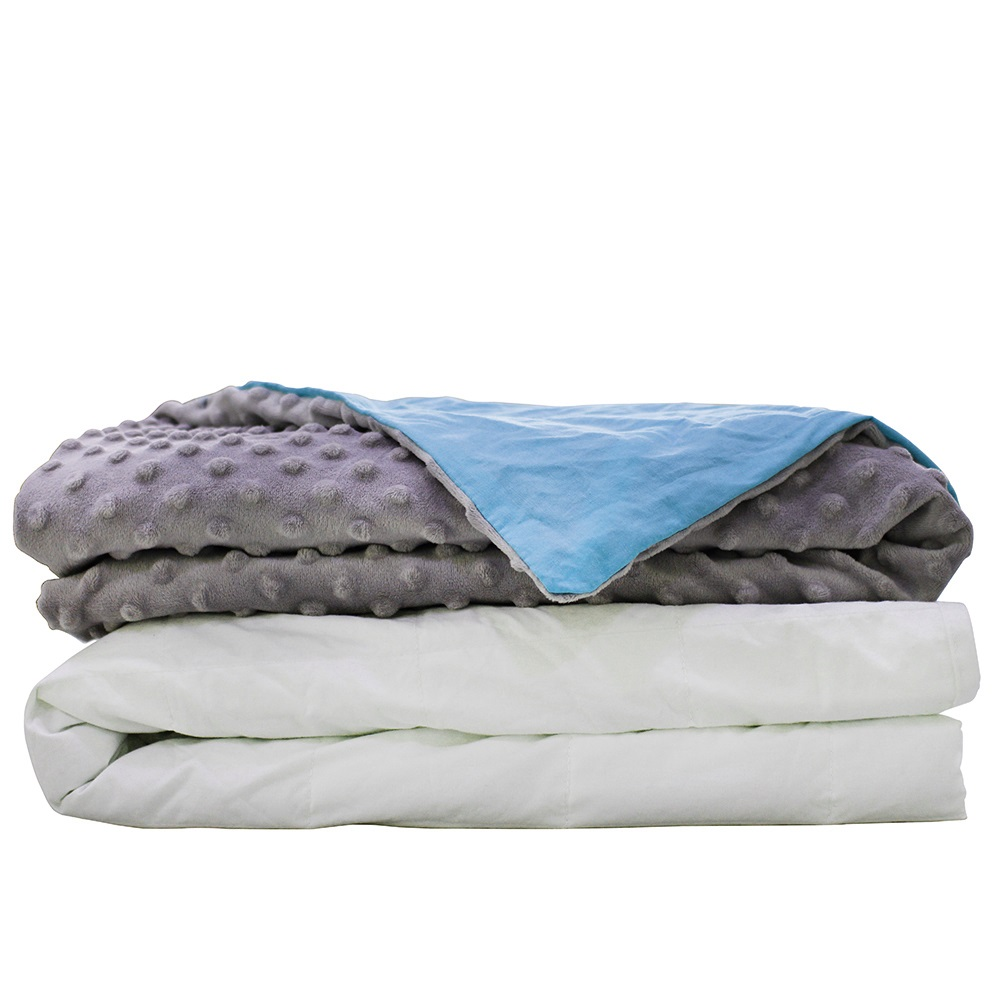 CMFRT Cozy Weighted Blanket Set with Duvet Cover for Adults by CMFRT