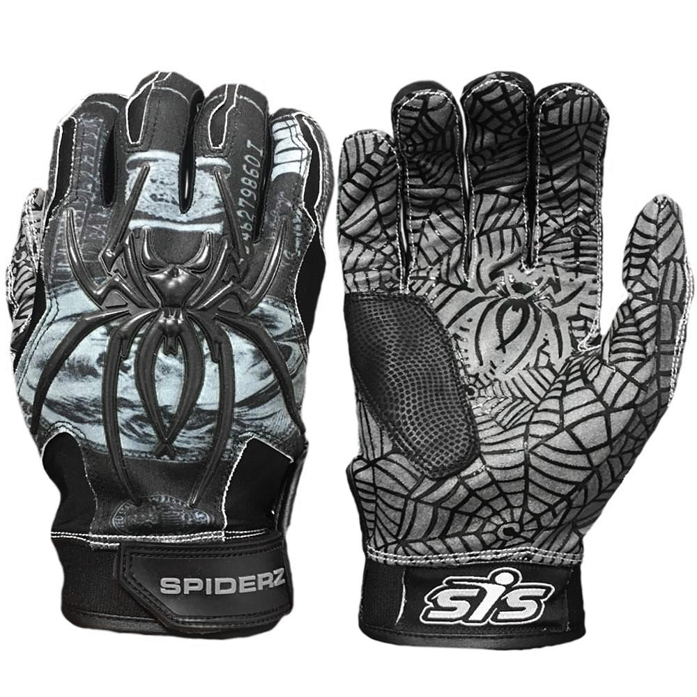 Spiderz Hybrid 2017 Adult Baseball/Softball Batting Gloves