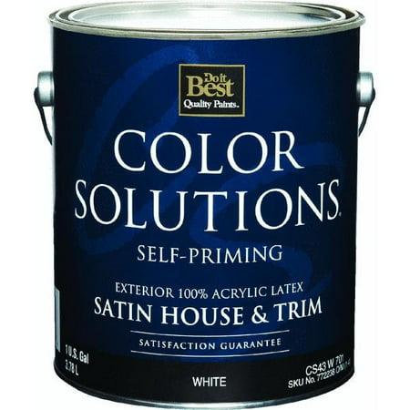 Color Solutions Latex Satin Self Priming Exterior House And Trim No Cs43w0701 16