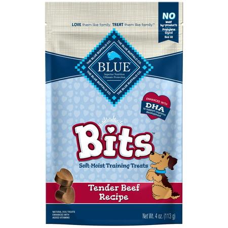 Blue Buffalo Bits Soft-Moist Training Dog Treats, Beef Recipe, 4-oz - Halloween Recipes Treats