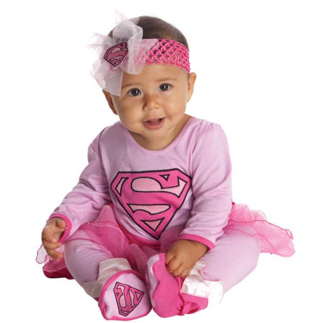 Costumes for all Occasions RU881201I Supergirl One Piece  Infant 6-12m