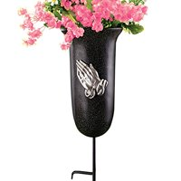 Outdoor Memorial Flower Vase with Stake