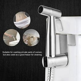 Spencer Portable Stainless Steel Handheld Bidet Toilet Sprayer Kit With Wall Bracket For Bathroom Diaper Washer Walmart Com Walmart Com
