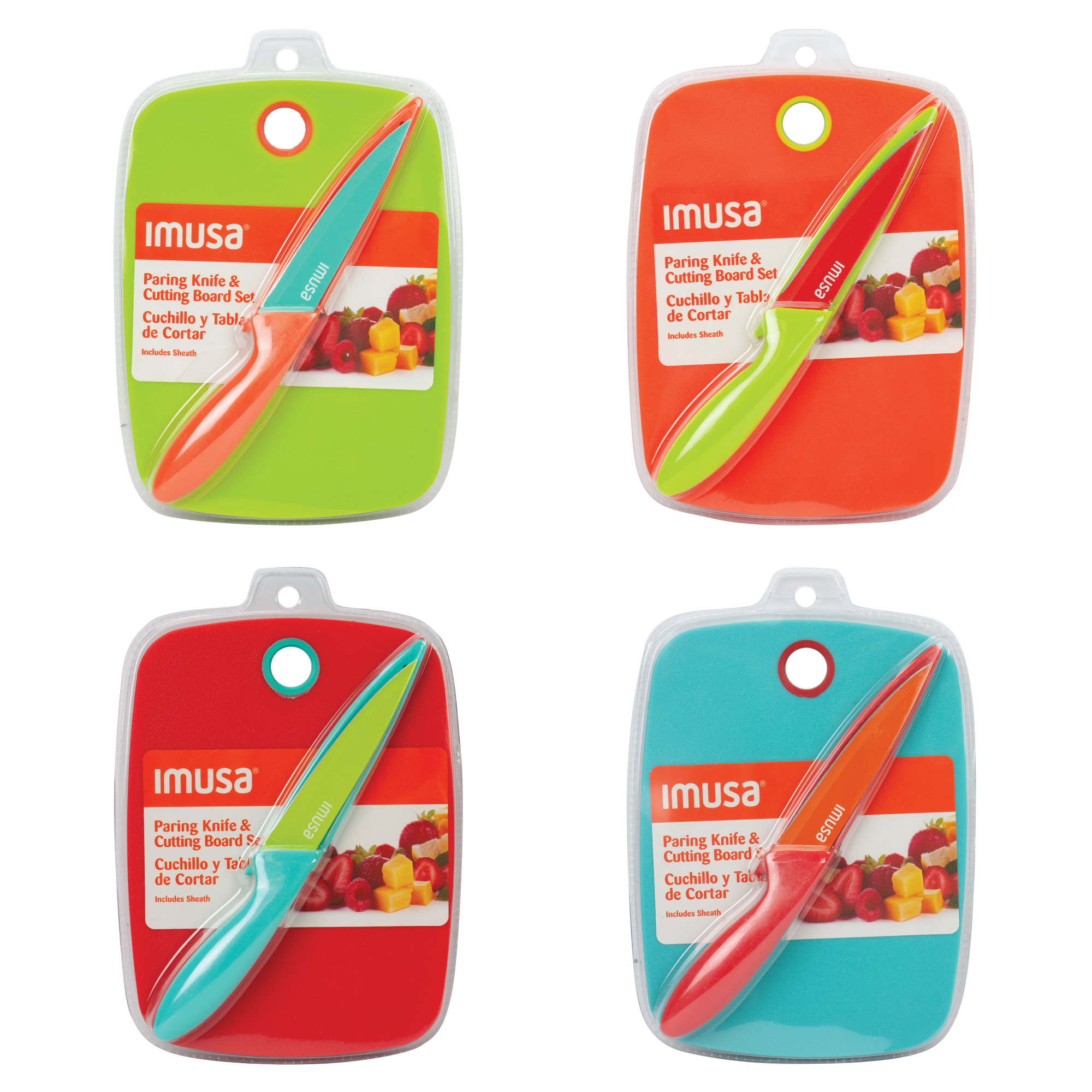 Imusa Cutting Board With Knife, Best Brands Cutting Board and Pairing Knife Set