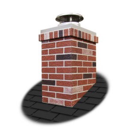Rectangle Top & Trim Kit For Chimney