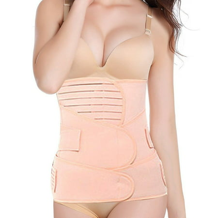 SLIMBELLE 3 in 1 Postpartum Support Recovery Belt Belly Wrap Waist Pelvis Belt Body Shaper Postnatal Shapewear