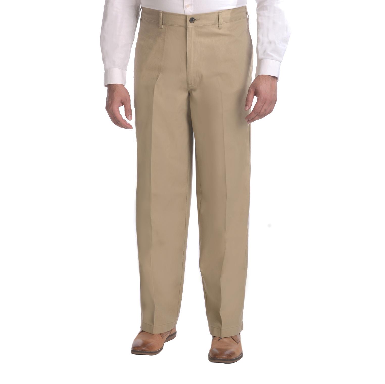 George Big Men's Elastic Twill Pant