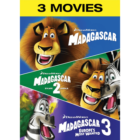 Madagascar / Madagascar: Escape 2 Africa / Madagascar 3: Europes Most Wanted - Escape Halloween Eve 2017