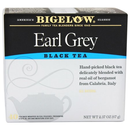 (6 Boxes) BigelowÃÂî Earl Grey Black Tea 40 ct Box](Earl Grantham)