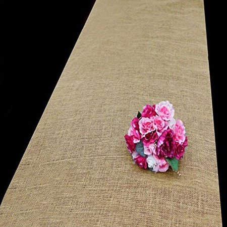Efavormart 36 x 100ft All Natural Jute Burlap Aisle Runner - Natural (Aisle Runners Cheap)