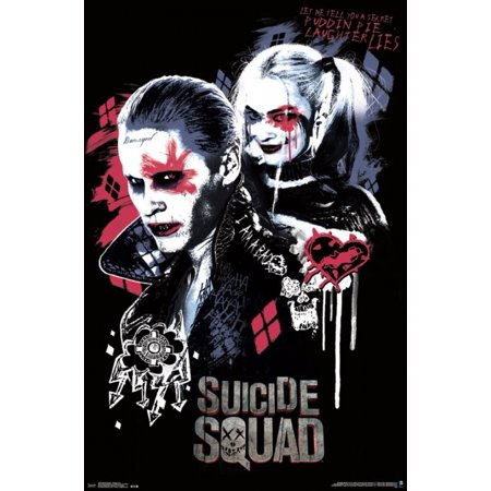 Suicide Squad Twisted Love Poster Print Walmart Com