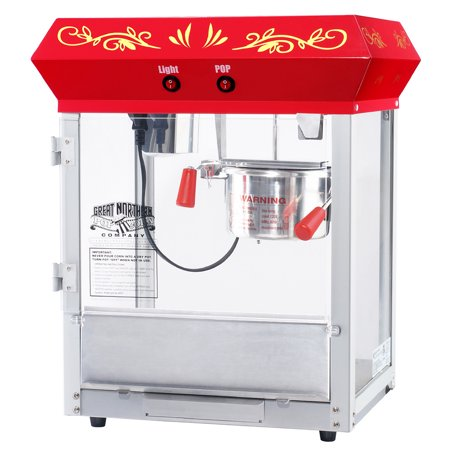 "Great Northern Popcorn ""All Star Classic"" Popcorn Machine Top (4 Oz, Red)"