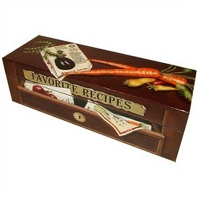 Lexington Studios 14003R Veggie Box with recipe cards by Lexington Studios