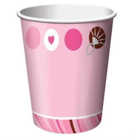 Bride to Be Dots 9 oz Hot/Cold Cups , 4PK (Bride To Be Cup)