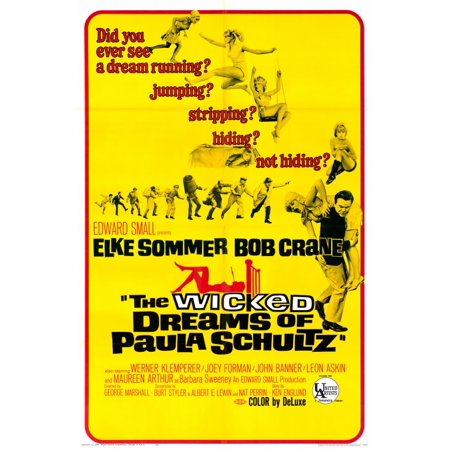 The Wicked Dreams of Paula Schultz POSTER Movie Mini Promo