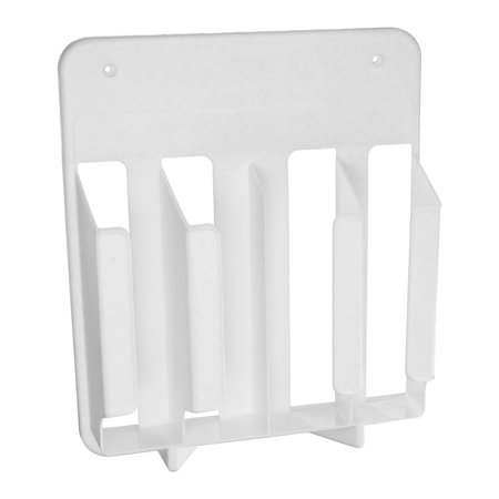 Rubbermaid Kitchen Wrap and Bag Organizer, White