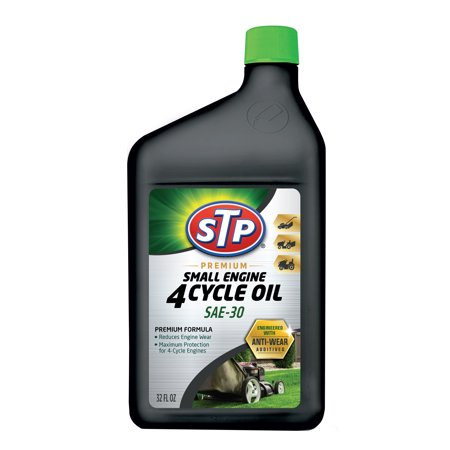 STP® Premium Small Engine 4 Cycle Oil SAE 30 (32 fluid ounces) 2 Cycle Engine Repair