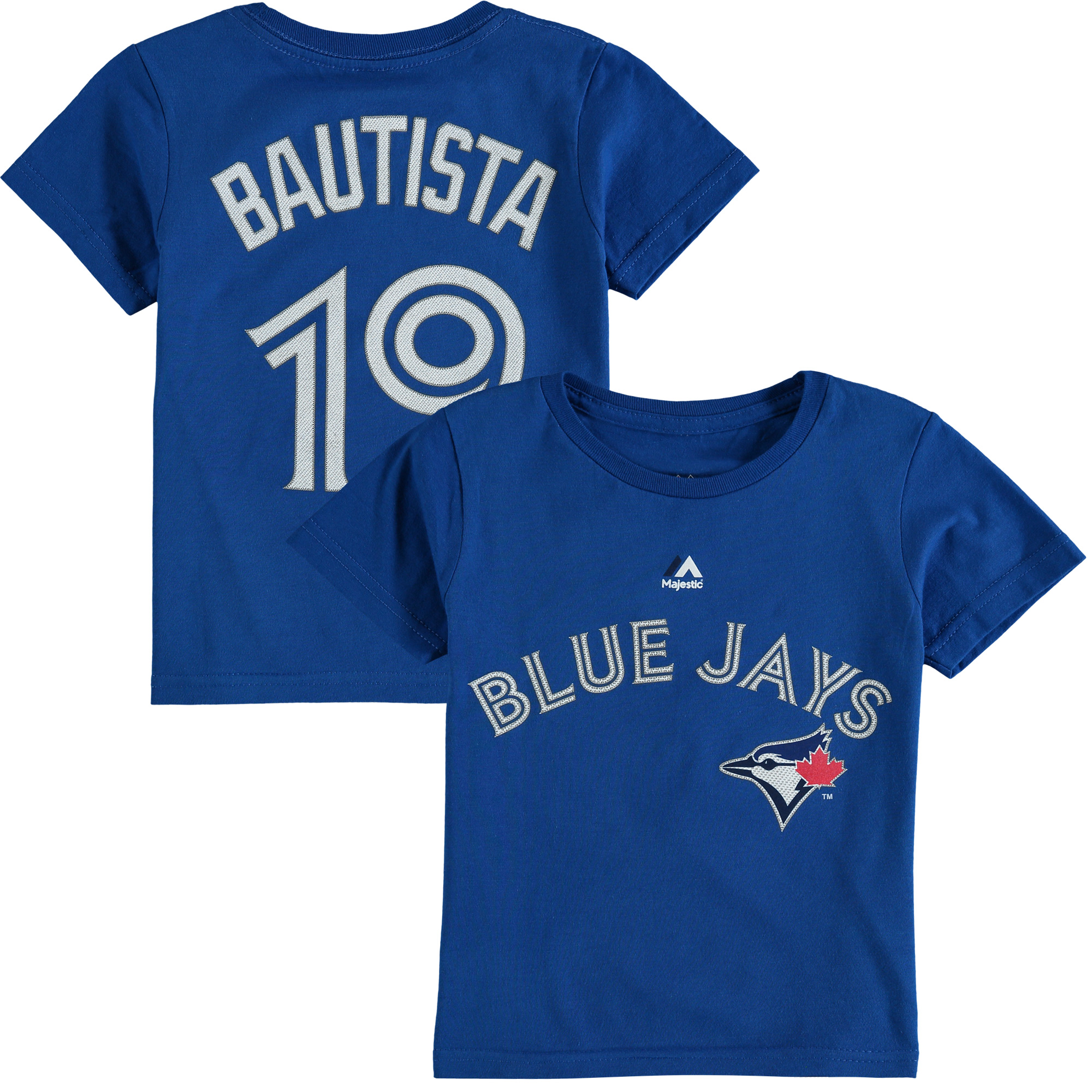 Jose Bautista Toronto Blue Jays Majestic Toddler Player Name & Number T-Shirt - Royal