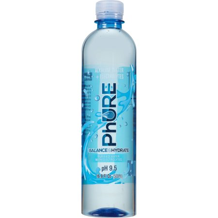 Phure Alkaline Water, 16.9 Fl Oz, 24 Count