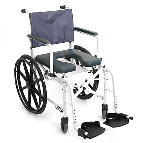 """Invacare Mariner Rehab Shower Commode Chair - 18"""" Seat"""