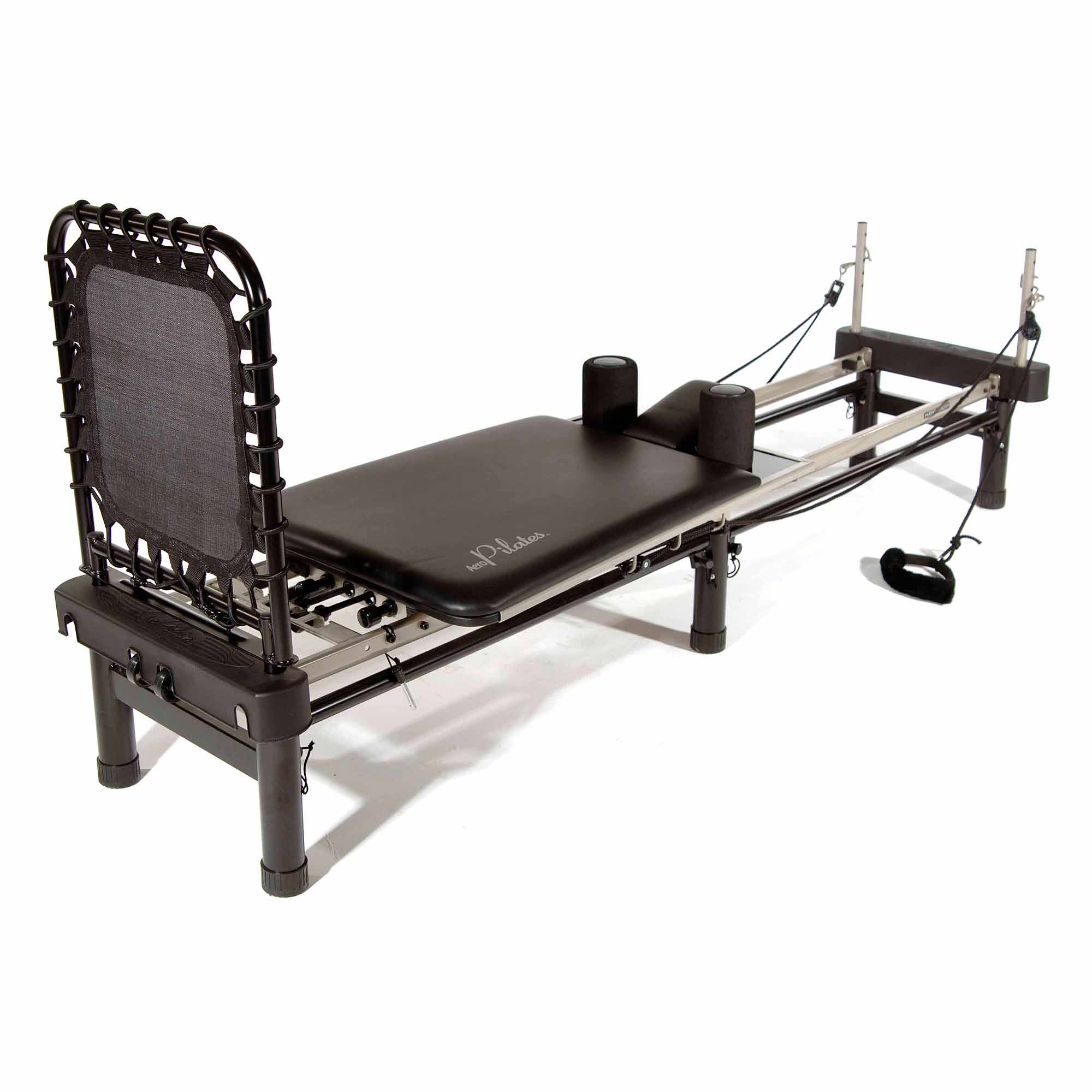 Stamina AeroPilates Premier with Stand, Cardio Rebounder, Neck Pillow and DVDs