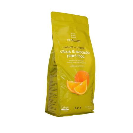 Image of EcoScraps Natural & Organic Citrus & Avocado Plant Food, 4 lb.