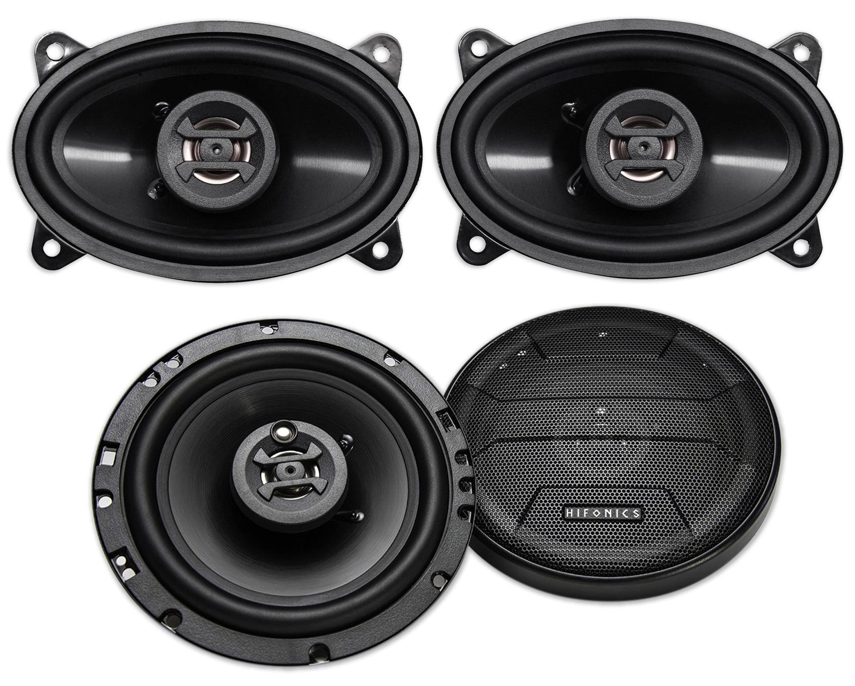 """(2) Hifonics ZS653 6.5"""" 600 Watt Car Stereo Speakers+(2"""
