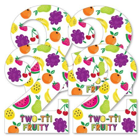 2nd Birthday Two-tti Fruity - Two Shaped Decorations DIY Frutti Summer Second Birthday Party Essentials - Set of 20](Summer Birthday Ideas)