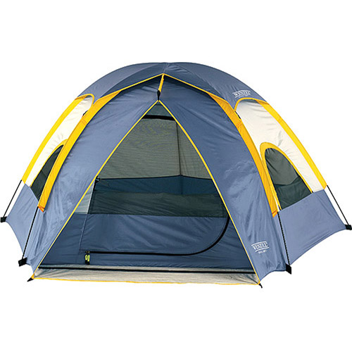 Wenzel Alpine Blue and Gold 3 Person Tent, 8.5' x 8'